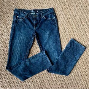 DC Denim Straight Leg Dark Wash Jeans Size 28